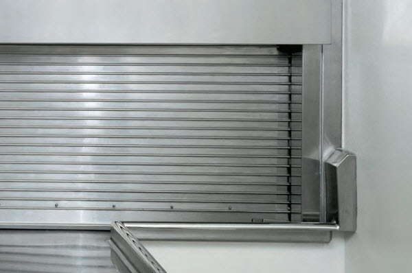 Metal Curtain Counter Door 655