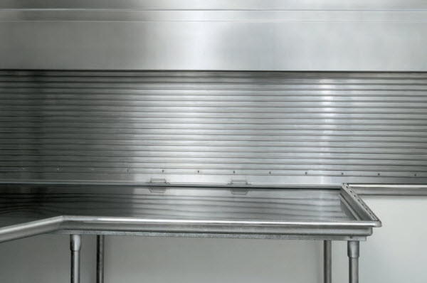 Integral Frame and Sill Counter Doors - 657 & Counter Doors