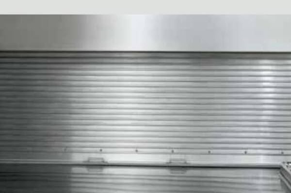 Metal Curtain Counter Door 658