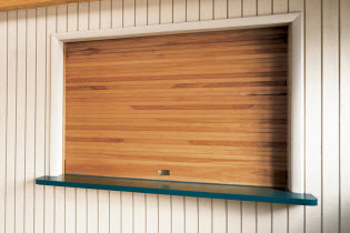 Wood Counter Doors - 665