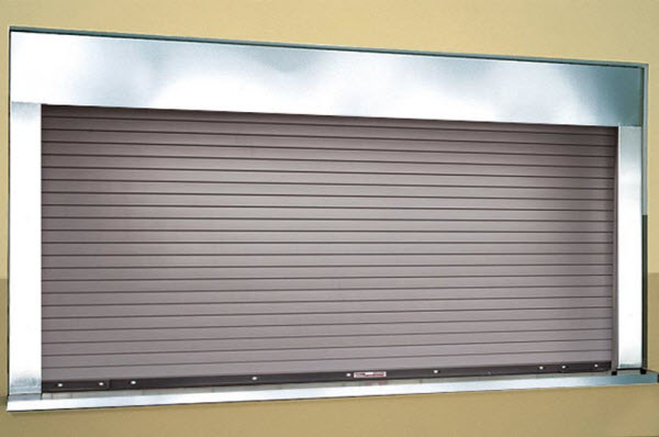 Integral Frame And Sill Fire Counter Doors 662
