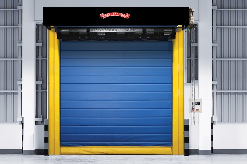 high speed insulated fabric doors