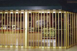 Side Folding Full Enclosure Security Grilles - Model 675