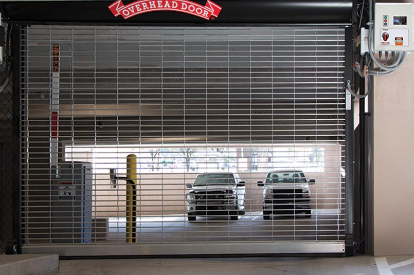 security grilles for parking garage