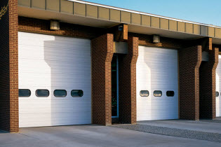 Sectional Steel Doors 593