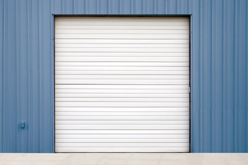 wind load door on building