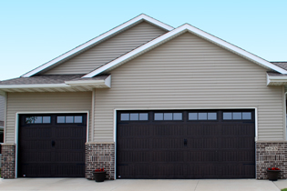 insulated garage doors - thermacore