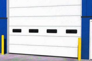 industrial garage door dimensions garage height wind load doors commercial