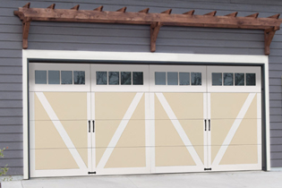 Wind Load Courtyard Garage Doors