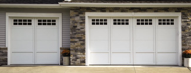 & Courtyard Garage Doors