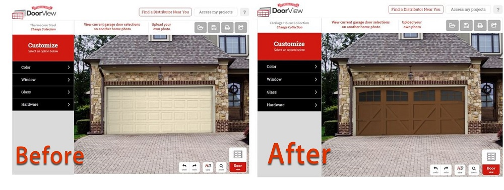 wood garage door builderGarage Door Designer