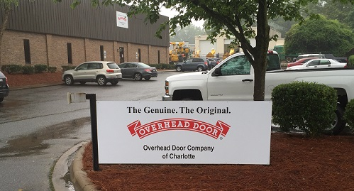 About overhead door company of charlotte north carolina for Garage doors charlotte nc