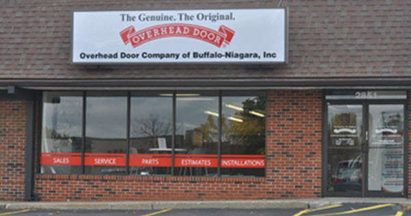 Overhead Door Company Of Buffalo Niagara New York