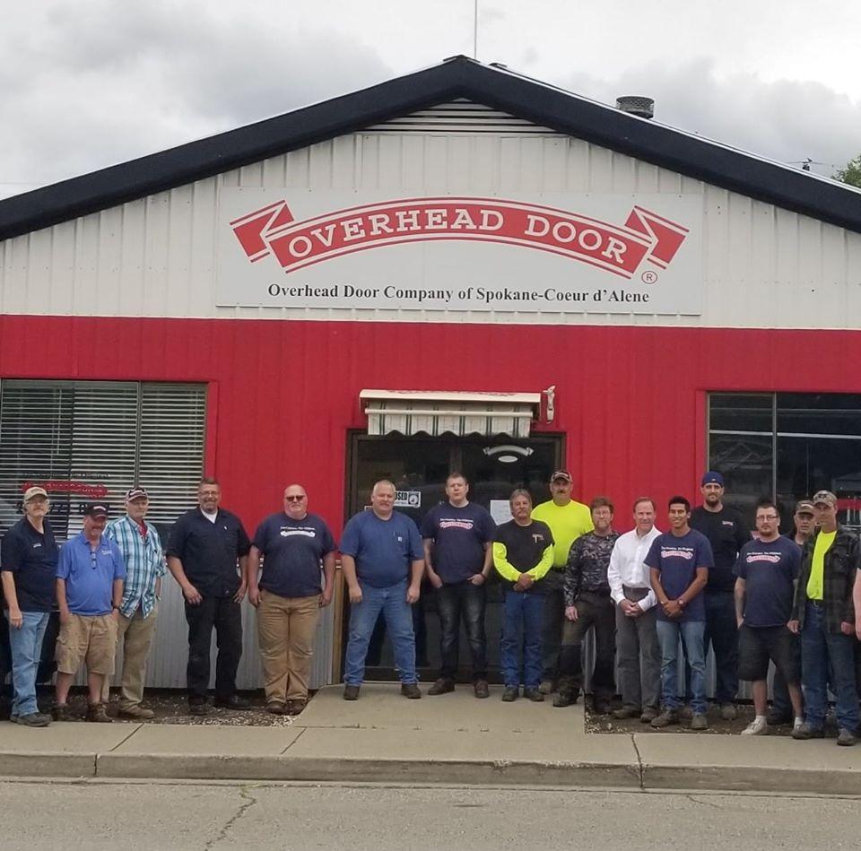 Overhead Door Company Of Spokane Coeur D Alene Idaho