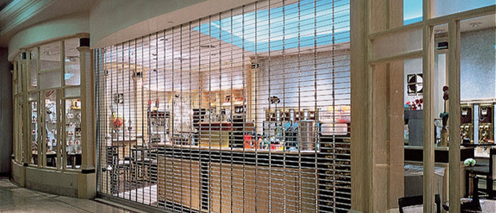 security grille pharmacy doors