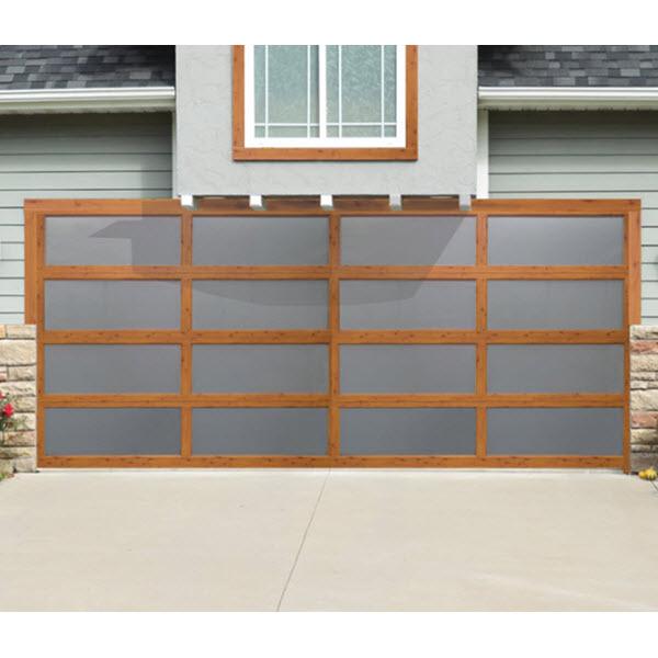 Blog Wood Grain Aluminum Garage Doors