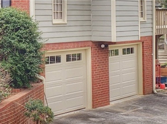 after garage door project