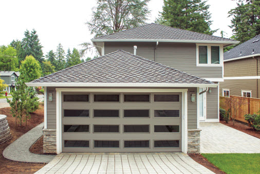 all window option thermacore garage door