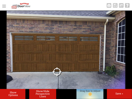 garage door design software - DoorView