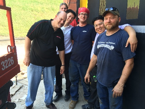 high speed door team