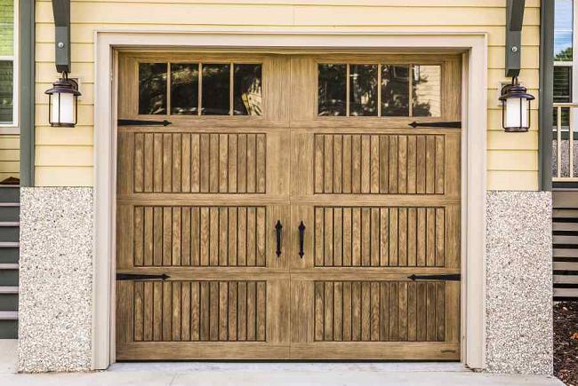 lanterns near garage door & Blog 6 Ways to Accent Your Garage Doors