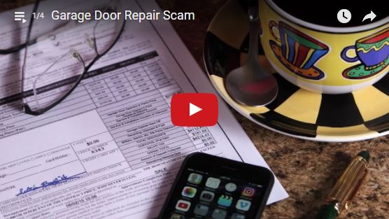 protect yourself from garage door scams