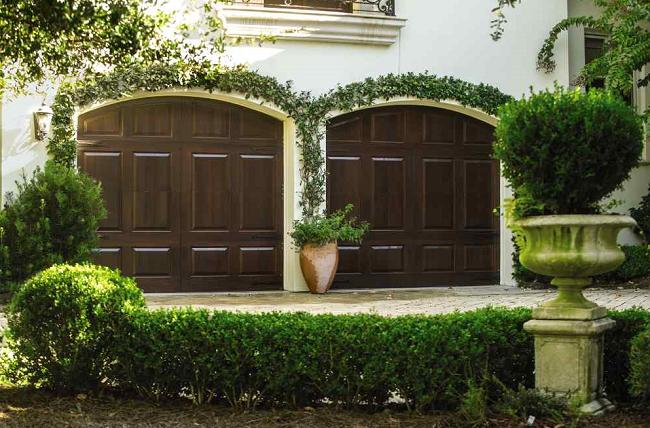 Garage Door With Arbor