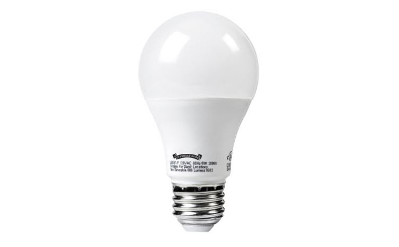 led light bulb for garage door openers
