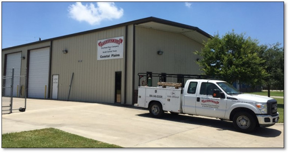 Overhead Door Company of South Texas building and truck