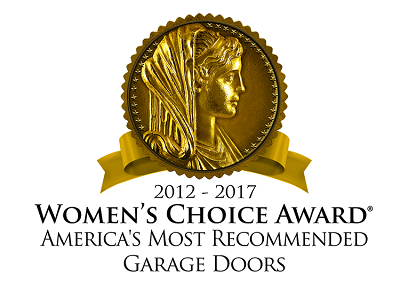 womens choice award for garage doors