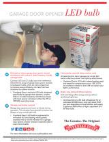 Replacement Light Bulb for Garage Door Opener Unit:LED bulb garage door opener lightbulb,Lighting