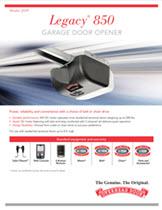 Legacy 174 850 Chain Best Overhead Door