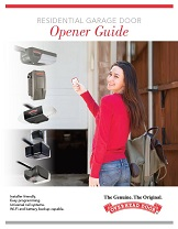 garage door opener guide