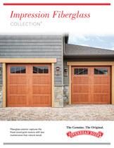 garage door brochure. Impression Collection Brochure & Fiberglass Garage Doors - Impression Collection