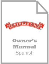 garage door opener owners manual - odyssey and destiny spanish