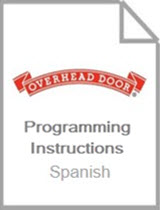 Wireless Keypad OKP Programming Instructions - Spanish