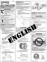 safety beam instructions - english