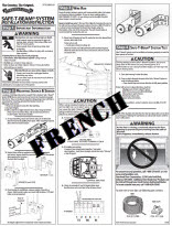 safety beam instructions - french