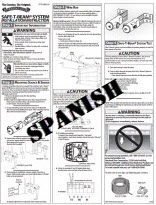 safety beam instructions - spanish