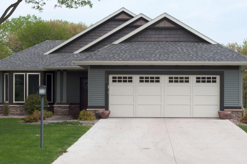 courtyard garage door