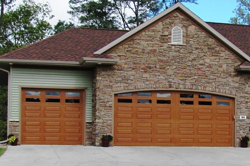 Fiberglass garage doors impression collection for 16 ft garage door prices