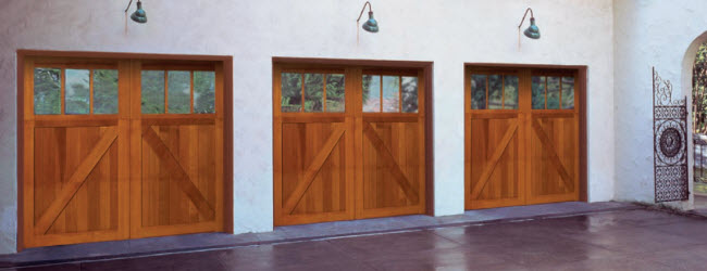 Signature Carriage Wood Garage Doors