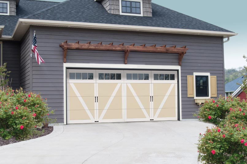 Wind Load Courtyard Garage Door