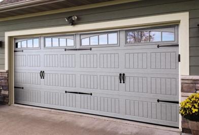 Thermacore garage doors with premium finish.
