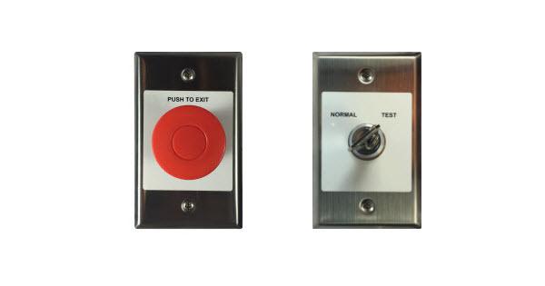 Commercial Door Opener Rsx Egress Switches
