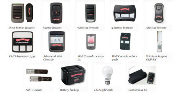 Garage Door Opener Accessories