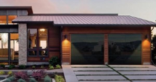 Full View Aluminum Glass Garage Doors