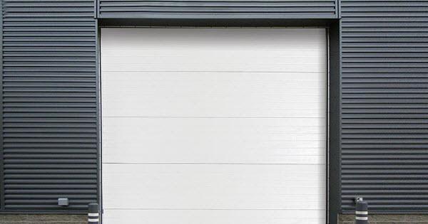 Insulated Steel Back Sectional Steel Door Model 470