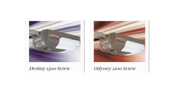 Screw Drive Garage Door Openers Drive Types