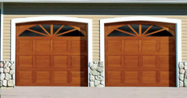 Traditional Wood Garage Doors